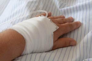 IV Antibiotics are required to treat flesh eating bacterial infections